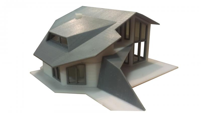 3D printing of architectural models